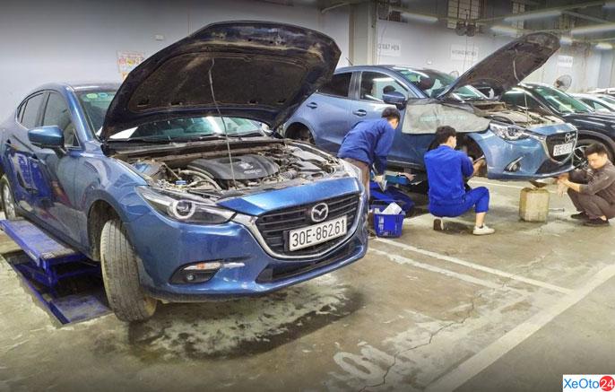 Dịch vụ sau bán hàng được Mazda Nguyễn Trãi đề cao