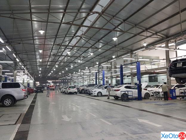 Dịch vụ sửa chữa được tuân theo những quy định nghiêm ngặt của Mazda