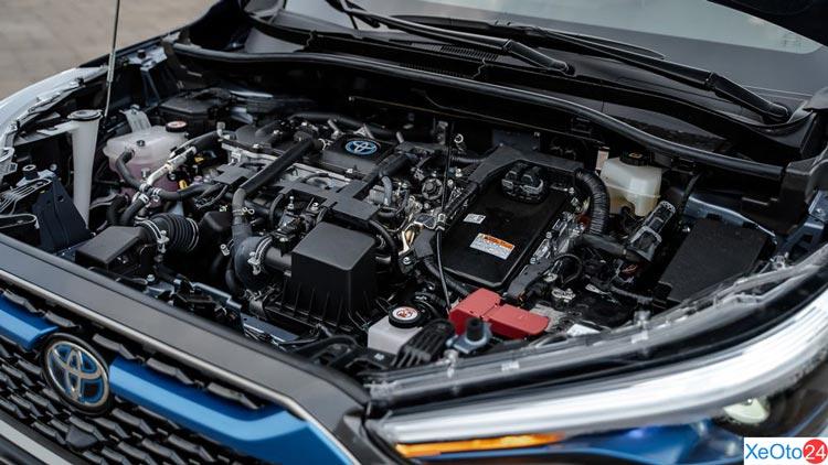 Động cơ của xe Toyota Corolla Cross