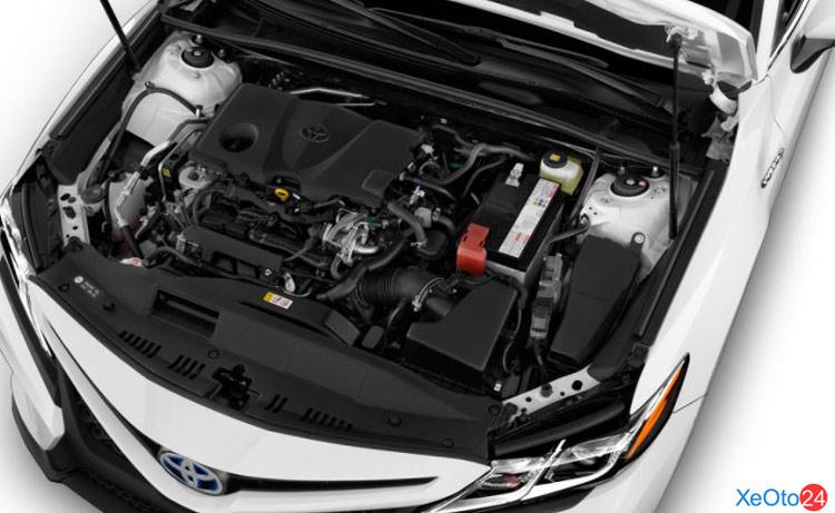 Động cơ xe Toyota Camry 2021 vẫn giữ nguyên
