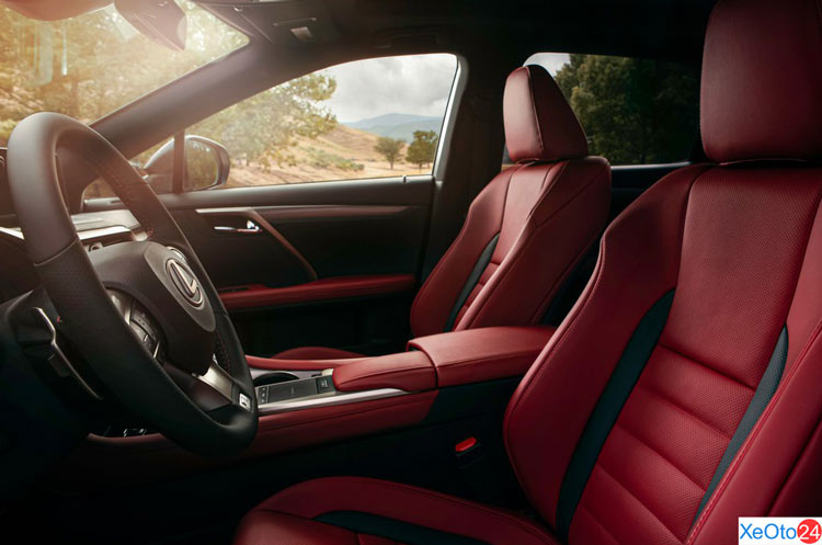Ghế ngồi xe Lexus RX350 2020