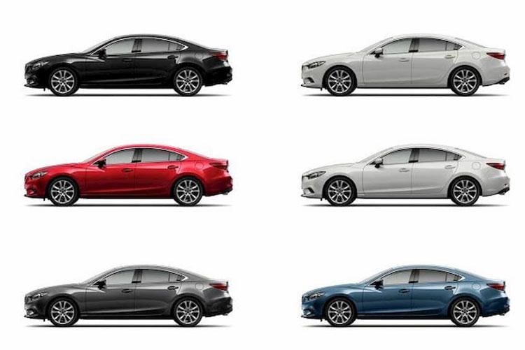 Màu xe Mazda 6 2020