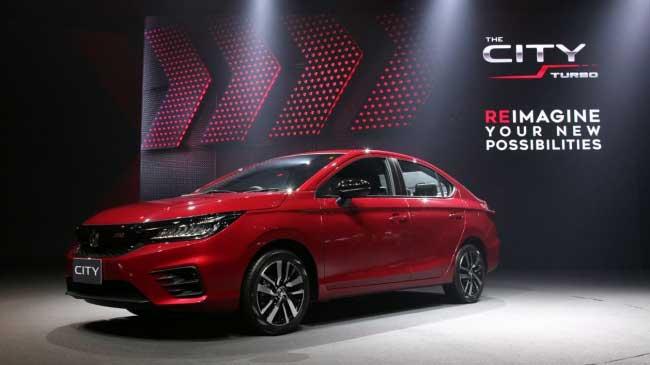 Ngoại thất xe Honda City 2021