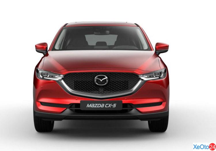 Phần đầu xe Mazda CX 2020
