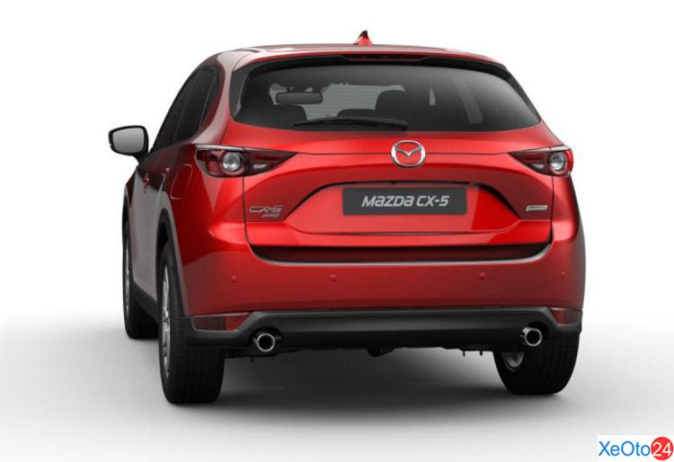Phần đuôi xe Mazda CX 5 2020