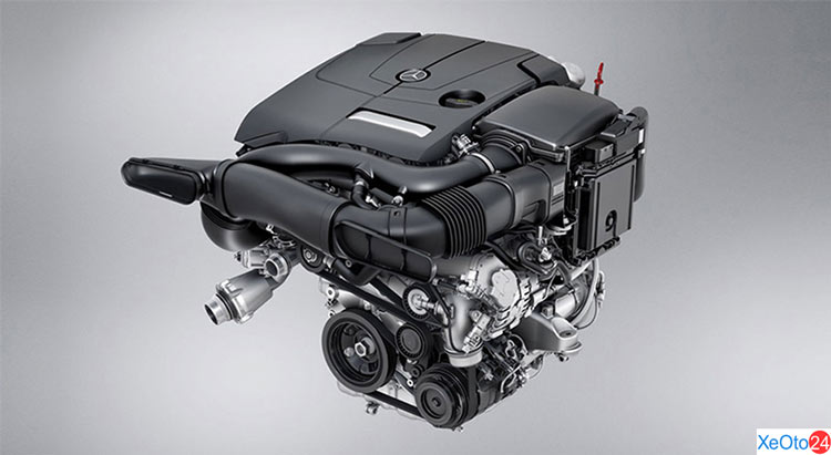 Động cơ của xe Mercedes GLC 250 2020