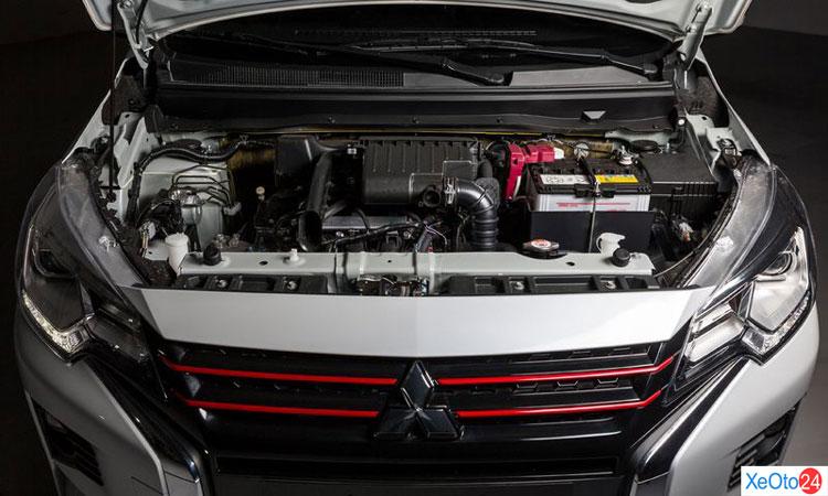 Động cơ của xe Mitsubishi Attrange 2020