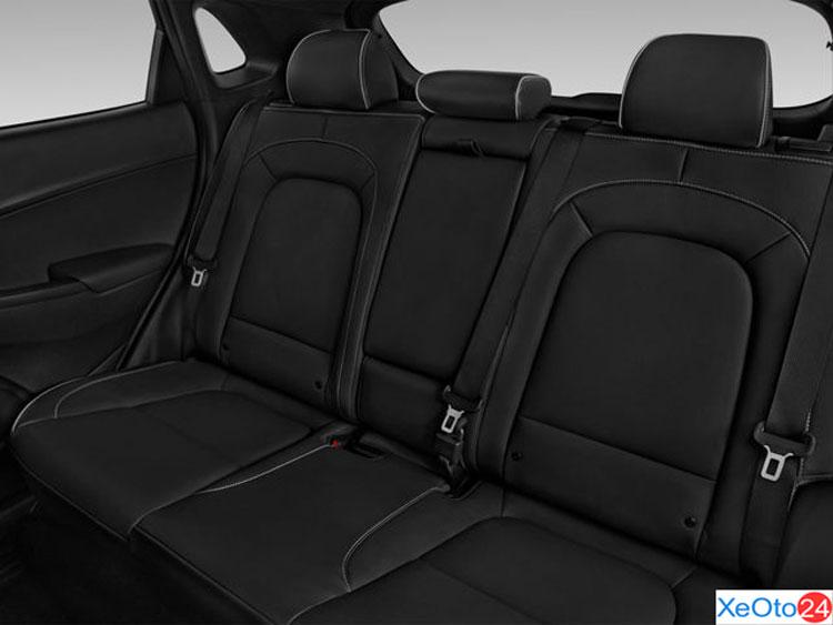 Hàng ghế thứ 2 trên xe Huydai Kona 2021