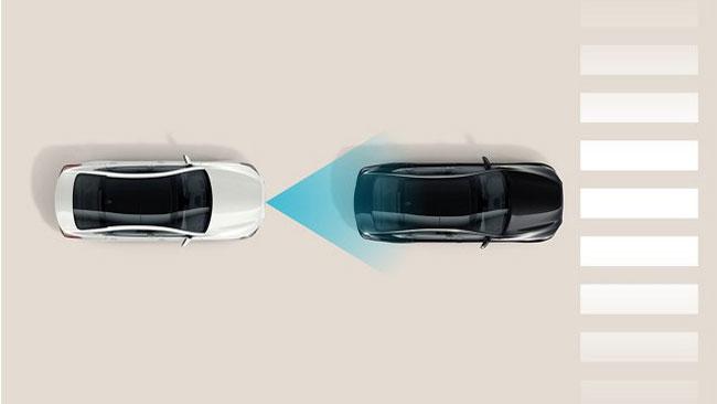 Hệ thống hỗ trợ tránh va chạm trên xe Huyndai Sonata