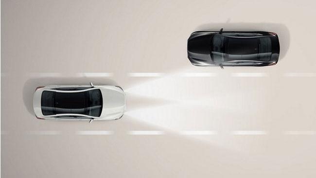 Hỗ trợ chùm tia cao (HBA)  trên xe Huyndai Sonata