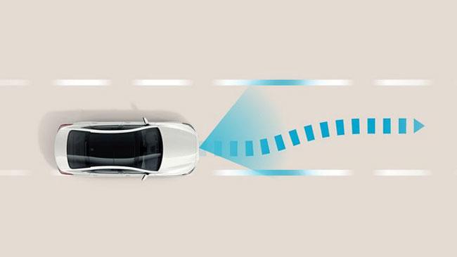 Hỗ trợ theo làn đường (LFA)  trên xe Huyndai Sonata