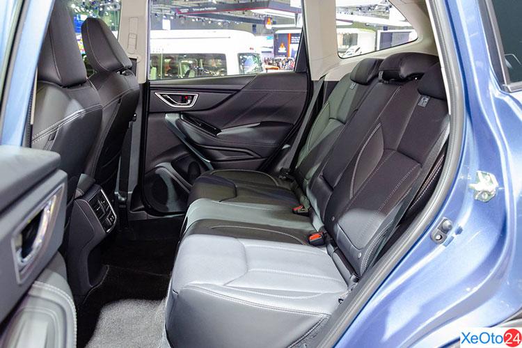 Khoang hành khách xe Subaru Forester 2021