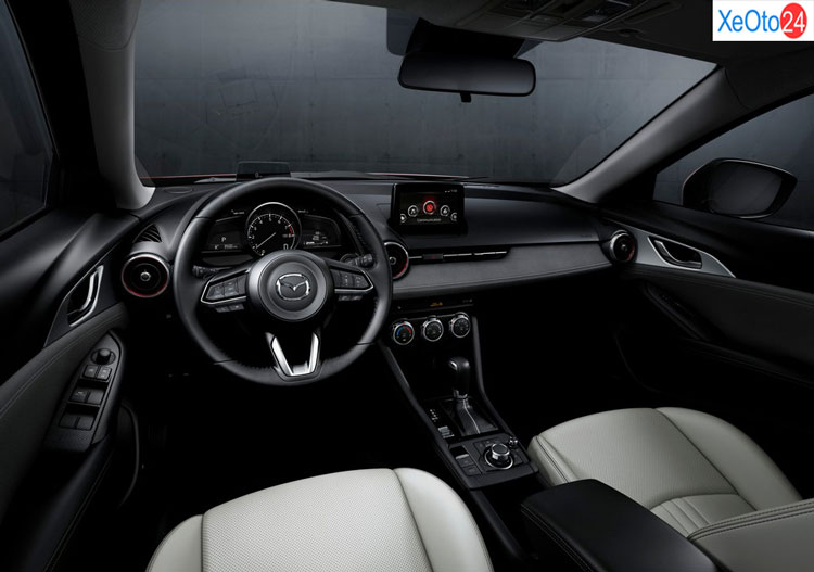 Khoang lái xe Mazda CX-3 2021