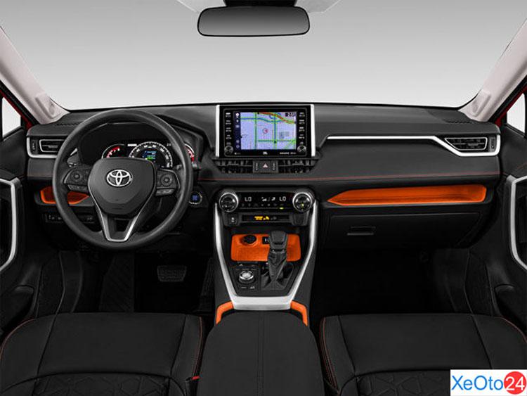 Khoang lái xe Toyota RAV4 2021