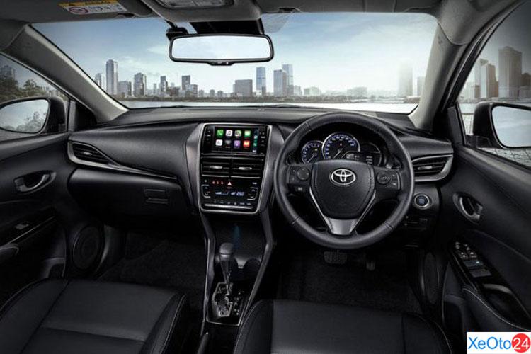 Khoang lái xe Toyota Vios 2021