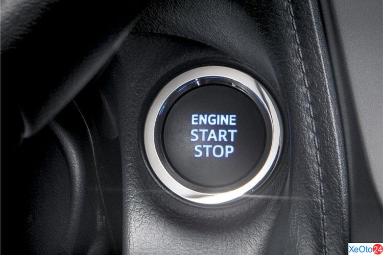 Khởi động bằng nút ấn đã được trang bị cho Toyota Vios 2021