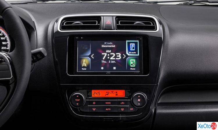 Màn hinh trung tâm trên xe Mitsubishi Attrange 2020