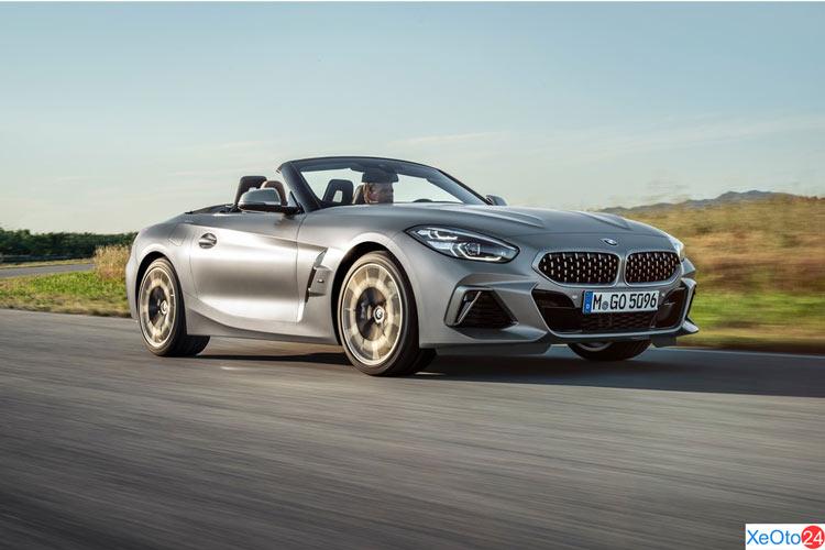Phần đầu xe BMW Z4 2020