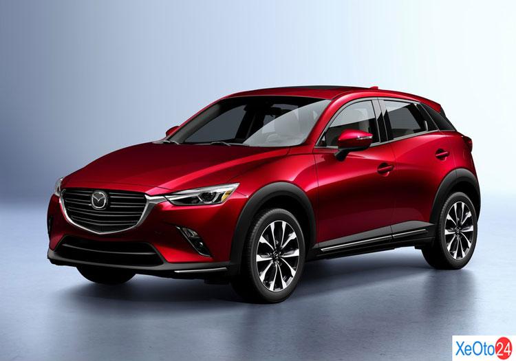 Phần đầu xe Mazda CX-3 2021