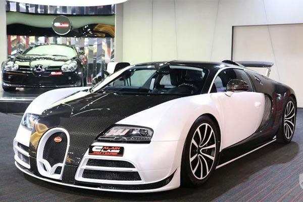 Bugatti Veyron phiên bản giới hạn Mansory Vivere