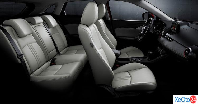 Tổng quan nội thất của xe Mazda CX-3 2021