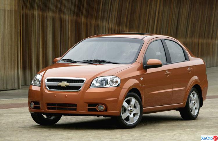 Xe Chevrolet Aveo 2020