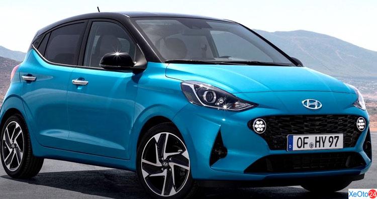Xe Hyundai i10 2021 phiên bản thường