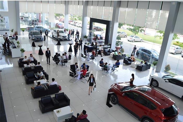 Các dịch vụ tại Showroom Mazda Bình Dương - Mazda Thị Xã Thuận An