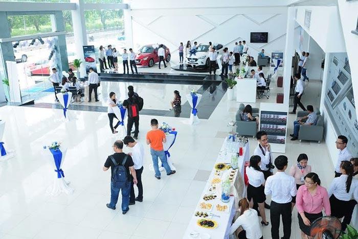 Đại lý Mazda Phú Mỹ Hưng được đầu tư cơ sở vật chất vô cùng hiện đại và khang trang