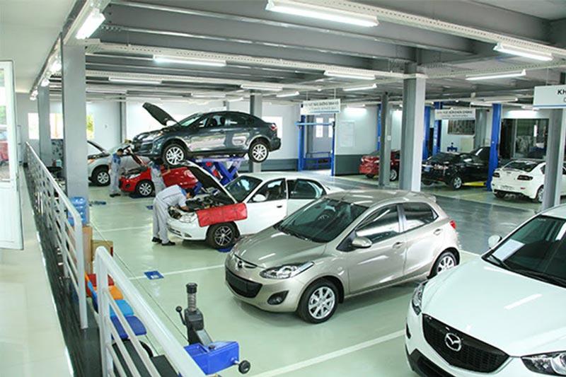 Dịch vụ sửa chữa - bảo dưỡng tại Mazda Đắk Lắk - Mazda Buôn Ma Thuột