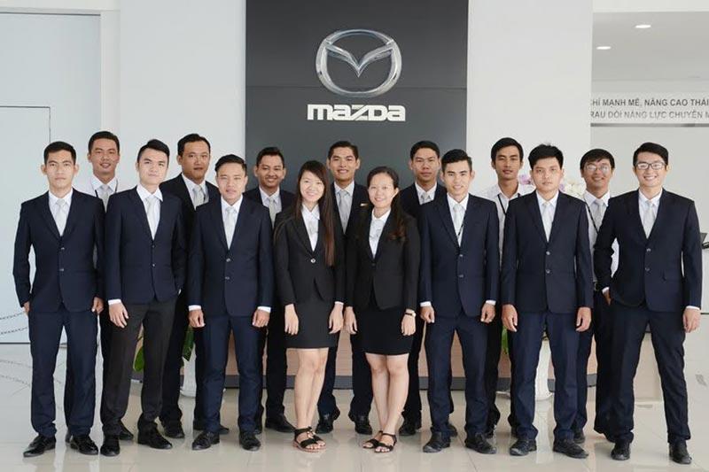 Đội ngũ nhân viên tại Đại lý Mazda Vĩnh Long - Mazda xã Tân Ngãi