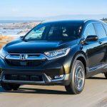 Phần đầu xe Honda CR_V 2021