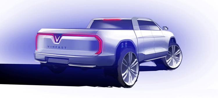 Phần đuôi xe đẹp mắt với hệ thống đèn bao quát gần như toàn bộ đuôi xe