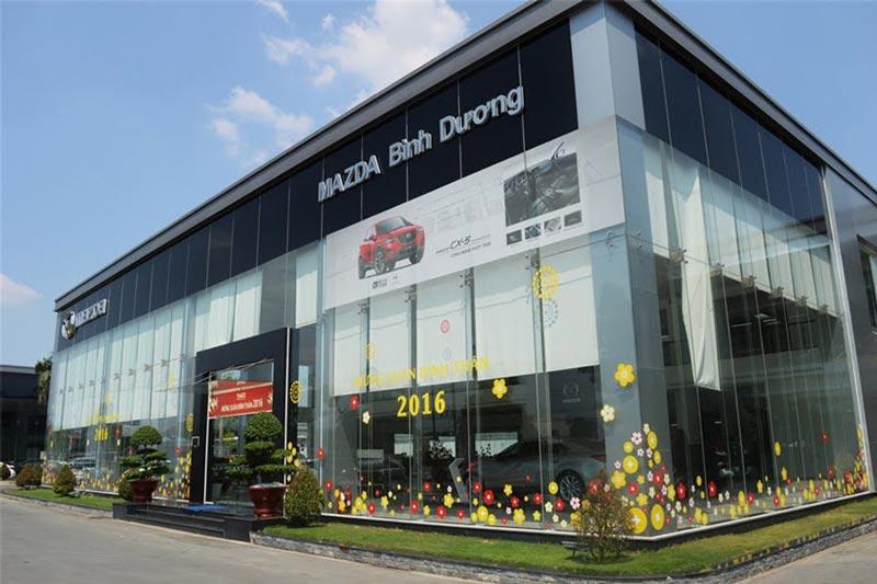 Showroom Mazda Bình Dương - Mazda Thị Xã Thuận An