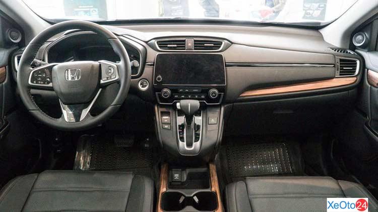 Khoang lái xe Honda CR-V 2021
