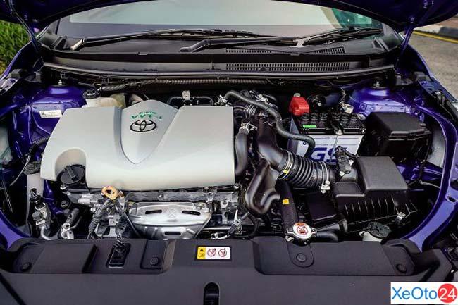 Động cơ Toyota Vios 2021 không thay đổi