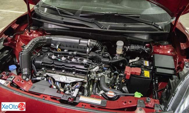 Động cơ của xe Suzuki Swift