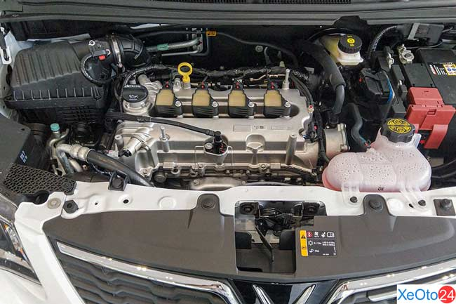 Động cơ của xe Vinfast Fadil
