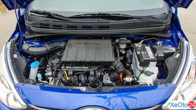 Động cơ xe Huyndai i10 sedan