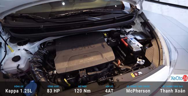 Động cơ xe Kia Morning 2021