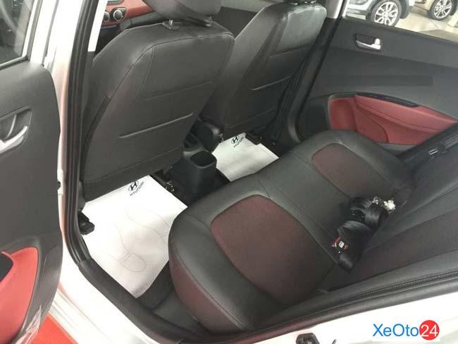 Hàng ghế 2 xe Huyndai i10 sedan