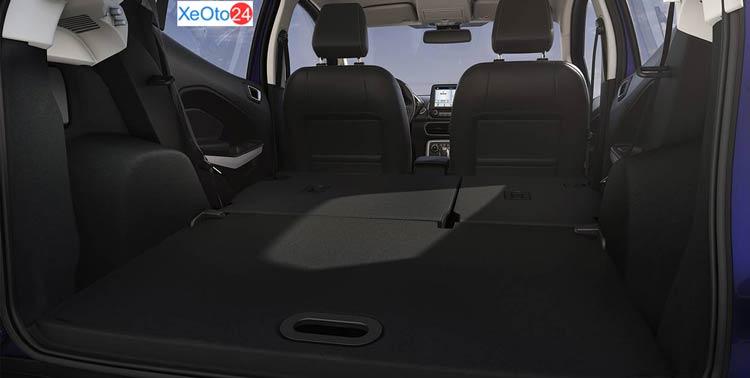 Khoang chứa đồ của xe Ford Ecosport 2021