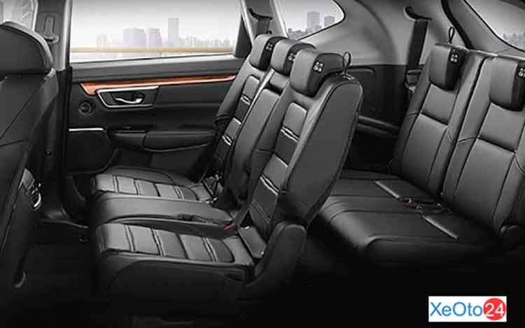 Khoang hành khách của Honda CR-V 2021