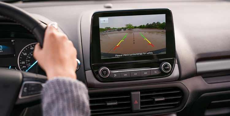 Màn hình được trang bị trên xe Ford Ecosport 2021