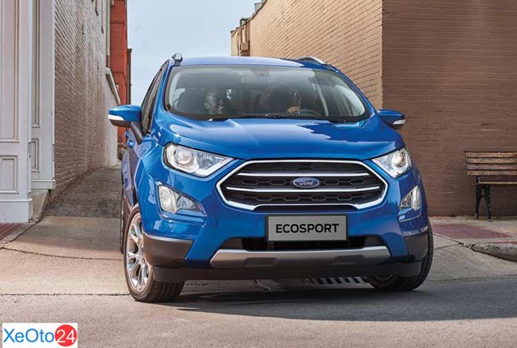 Phần đầu xe Ford Ecosport 2021