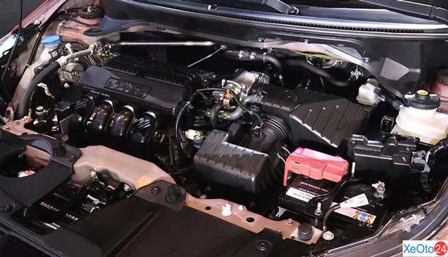 Phần động cơ xe Honda Brio 2021