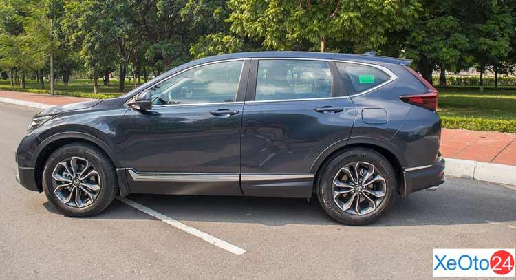 Phần thân xe Honda CR-V