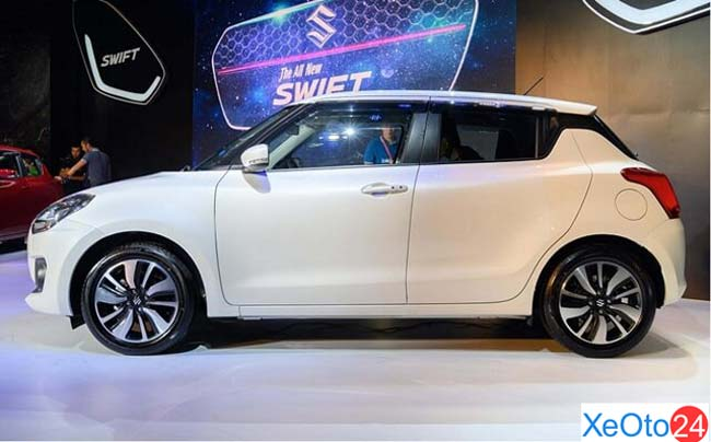 Phần thân xe Suzuki Swift