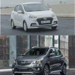 So sánh xe Huyndai i10 sedan và Vinfast Fadil