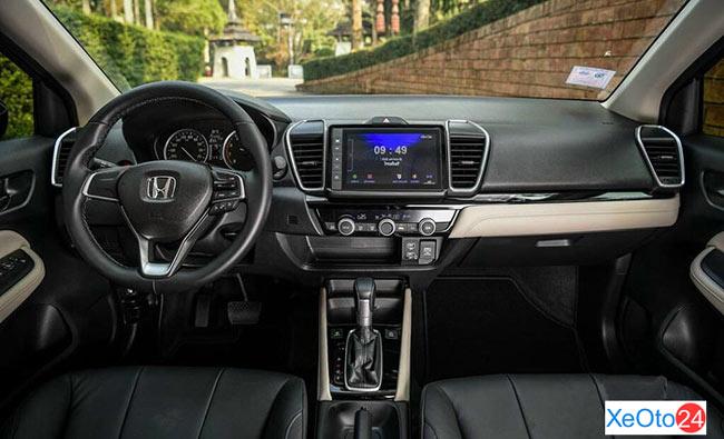 Tổng quan nội thất xe Honda City 2021